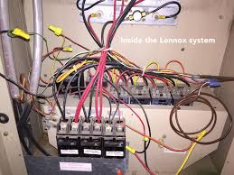 how to add a c wire to an old lennox system home improvement enter image description here