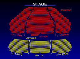 Broadway New York Seating Chart Marquis Theatre Broadway Seating Charts History Info