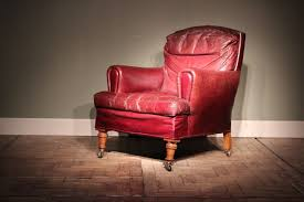 Very comfortable 19th Cent English Leather Club Chair