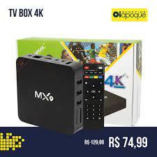 📺TV BOX 4K - Transforma sua TV em... - Shopping Oiapoque