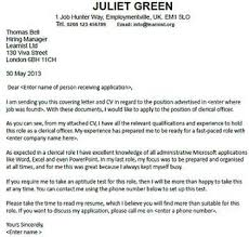 Cover Letter For A Clerical Officer Job Seekers Forums Job Tips