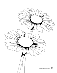 Daisy bunch coloring pages - Hellokids.com
