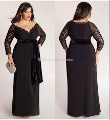 plus size long black dresses stunning plus size special occasion dresses with sleeves 70 for your