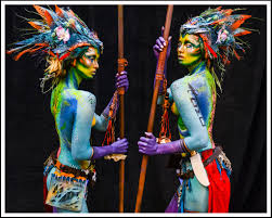 cmc makeup body painting works cles dallas makeup texas beauty
