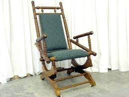 antique platform rocking chair antique barley twist platform rocker from dark oak beautiful emerald nice antique