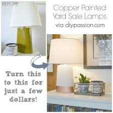 passion lighting. How I Rescued A Pair Of $1 Yard Sale Lamps | DIY Passion. Lighting Passion