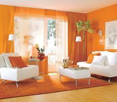 Pink And Orange Small Living Amazing Orange Living Room Design