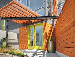 mid century modern front doorsMad for MidCentury Green Modern Front Doors