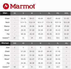 Marmot Youth Size Chart Best Picture Of Chart Anyimage Org