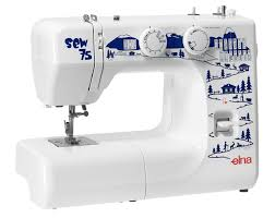 Elna - United States - Sewing - Sew 75 & ... sewing machine for beginners who want to discover the world of sewing  but is equally suitable for those who want to improve their knowledge and  ability! Adamdwight.com