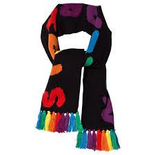 Stella McCartney Kids - Stellabration <b>Knit Scarf</b> With Fringe <b>Шарф</b> ...