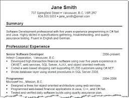 Resume Summary Statement Printable Resume Templates