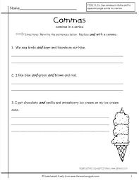 Using Commas Worksheet Teaching Resource Punctuation Comma ...