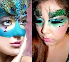 20 pea feather inspired eye make up designs ideas looks 19 20 pea feather inspired eye make up designs ideas looks