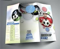 soccer team brochure template sports camp brochure template 3 fold team weekend soccer