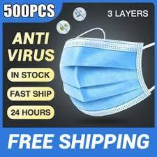 Mouth <b>Masks</b> Anti-Pollution 3 Laye <b>Mask Disposable Protection</b> ...