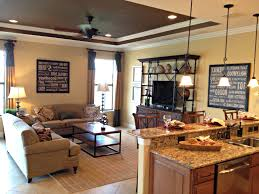 Kitchen Family Room Kitchen Enthralling Family Room With Small Kitchen Feat Granite