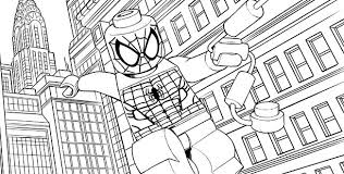 Small Picture Printable 9 Lego Spiderman Coloring Pages 8972 Free Coloring