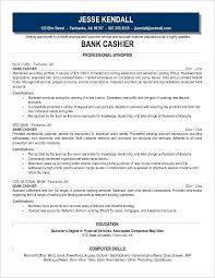 Bank Cashier Job Description Examples Of Resumes For Cashier Jobs