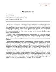 Memorandum Samples Templates Memorandum Template Madinbelgrade