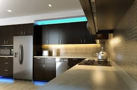 kitchen cabinet lighting ideas. Cool Ideas For Above Cabinet Lighting With Dark Kitchen Cabinets And Luxury Tile Backsplash F