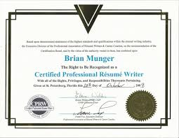 Certified Resume Writer Fascinating Certified Resume Writer Writing Certification Great How To Write A