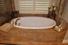 how to build a tile tub and shower freestanding combo bath unit