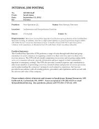 Job Letter Of Interest Best Photos Of Letter Interest Job Position Internal