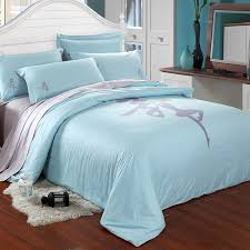blue and gray bedding white fluffy rug wooden laminated floor turquoise geometric bedding set brown wooden