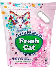 Fresh <b>Cat</b>® «Утренняя свежесть» — <b>силикагелевый наполнитель</b> ...