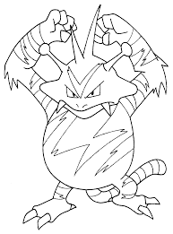 Small Picture Coloring Pages Draw Pokemon Characters olegandreevme