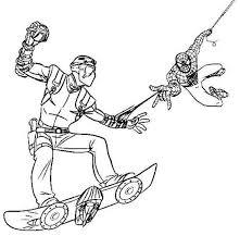 Uomo Ragno Da Colorare Con Disegni Di Spiderman Da Colorare Foto