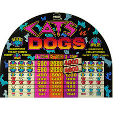 spin inc quality gaming machines equipment s plus top glass picture of s plus top glass cats n dogs 19 5 w