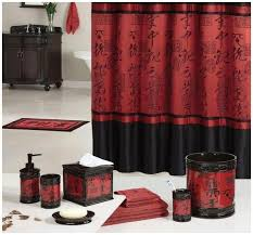 Pictures Red Bathroom Sets And Black Accessories Set Pinteres