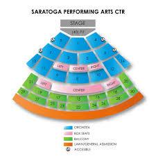 Saratoga Performing Arts Center Seating Chart With Rows Saratoga Performing Arts Center 2019 Seating Chart