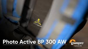 <b>Lowepro Photo Active BP</b> 300 AW - Product Walk Through - YouTube