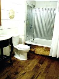 corrugated tin shower metal walls wall image bathroom surrounds s metal shower walls