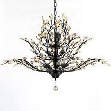 modern crystal chandelier motent vintage 11 light metal branch pendant lamp with clear k9 crystal iron wrought hanging lighting fixture with e14