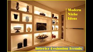 Niche Lighting Ideas Top 35 Modern Wall Niche Ideas Cool Interior Design Ideas