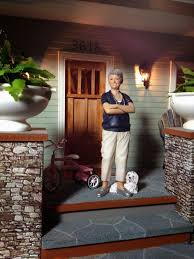 lighting for dollhouses. Jocelyn\u0027s Mountfield Dollhouse: Midtown Bungalow Dollhouse Exterior Lighting For Dollhouses