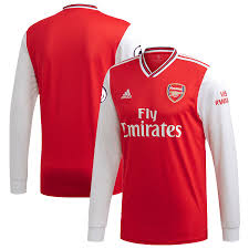 Red Sleeve Jersey Blank 20 Adidas Home 2019 - Replica Arsenal Long
