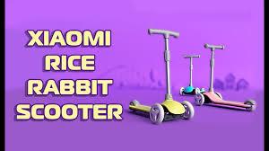 ДЕТСКИЙ <b>САМОКАТ Xiaomi Rice</b> Rabbit Scooter. Распаковка ...