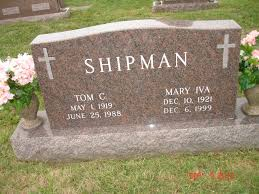Mary Iva Gorby Shipman (1921-1999) - Find A Grave Memorial