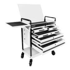 sunex tools. sunex tools 8045wh heavy duty 5 drawer service cart - white