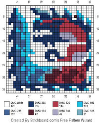 Monster Hunter World Chart Cross Stitch Charts Glavenus Cross Stitch Monster Hunter