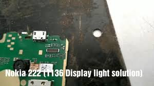 Nokia 216 Display Light Solution Nokia222 Rm1136 Display Light Solution