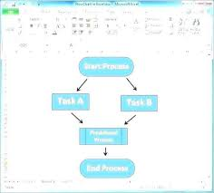 How To Create Template In Excel 2010 Microsoft Excel 2010 Flowchart Template 33072580425 How To Create