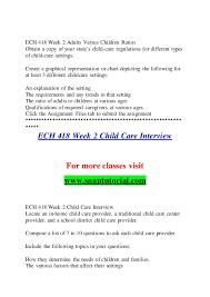 Ech 418 Education Organization Snaptutorial Com