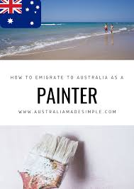 migrate to australia as a painter decorator