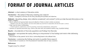 Abstract Essay Format Article Abstract Rome Fontanacountryinn Com